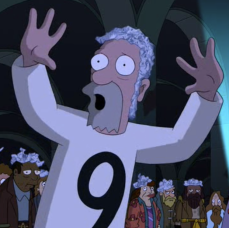 Number 9 Guy from Futurama